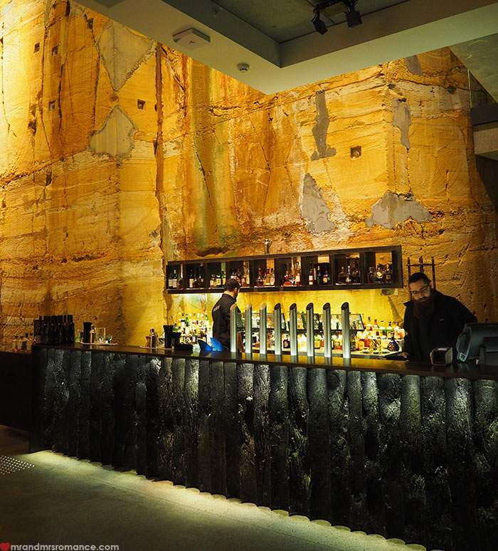 Mr & Mrs Romance - Spirit of Tasmania - Bar in MONA