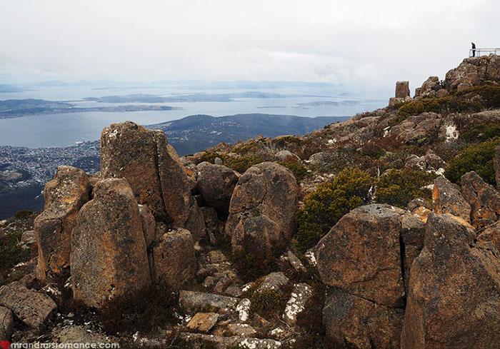 Mr & Mrs Romance - Spirit of Tasmania - Mount Wellington