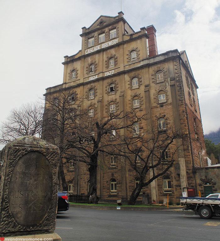Mr & Mrs Romance - Spirit of Tasmania - Cascade Brewery