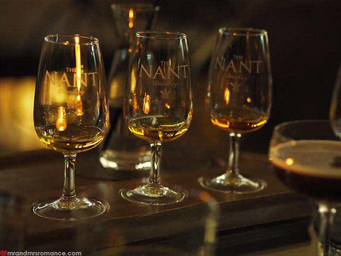 Mr & Mrs Romance - Spirit of Tasmania - Nant Distillery