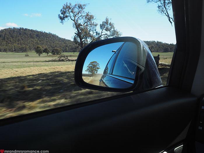 Mr & Mrs Romance - Spirit of Tasmania - road trip