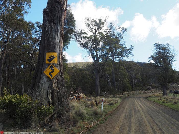 Mr & Mrs Romance - Spirit of Tasmania - off the beaten track