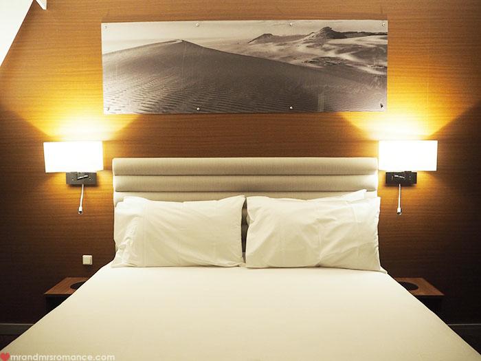 Mr & Mrs Romance - Spirit of Tasmania - Deluxe Cabin bed