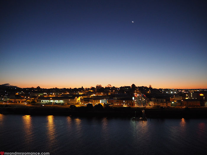 Mr & Mrs Romance - Spirit of Tasmania - Port Melbourne