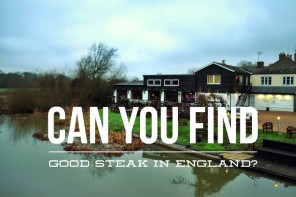 Can you find a good steak in England? The Rare Cow steakhouse