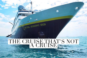 The cruise that's not a cruise – our voyage on the National Geographic Orion