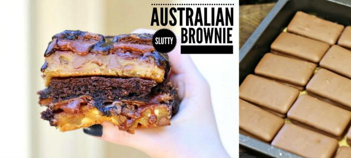 Lipstick and Cake - slutty Australian brownies 1