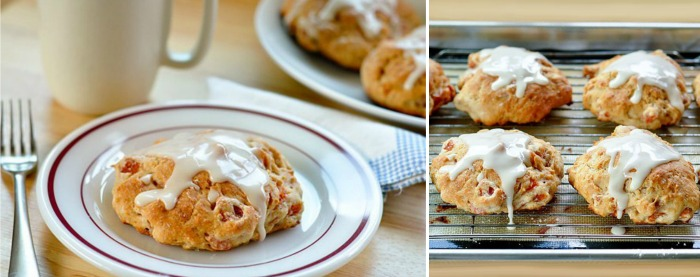 Apricot Yogurt Scones Recipe — Dishmaps