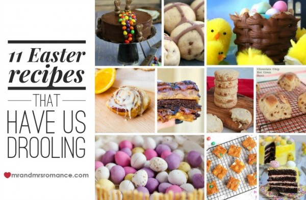 Mr & Mrs Romance - Easter wrap 16 - feature