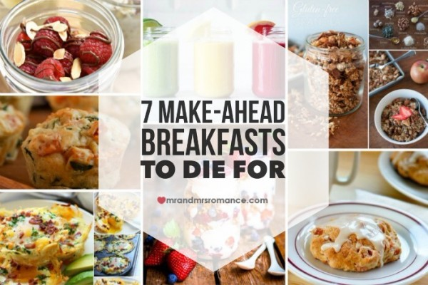Mr & Mrs Romance - make-ahead brekkies - feature