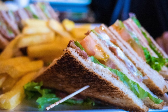 Mr & Mrs Romance - the club sandwich