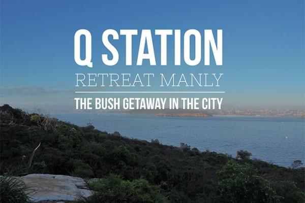 Mr and Mrs Romance - Q Station Retreat, Manly - Sydney staycation