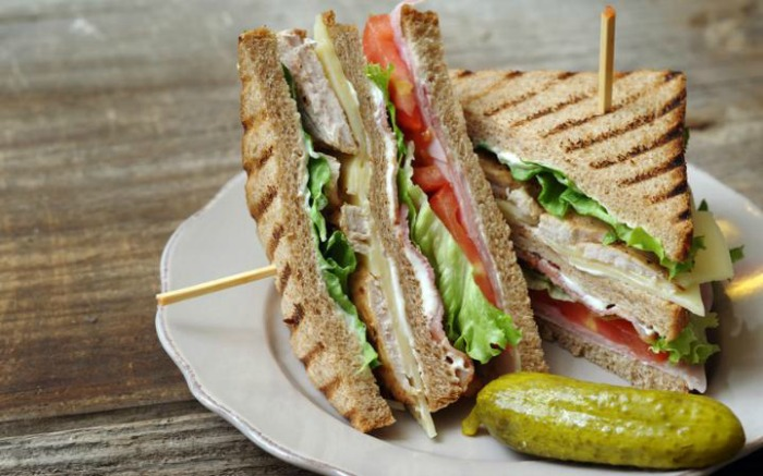 The club sandwich - via The Telegraph Travel Beta