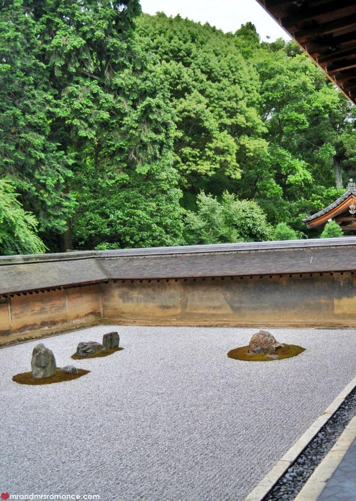 Mr & Mrs Romance - Kyoto temples - 3 ryoan ji