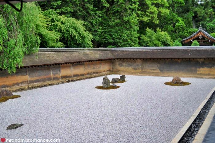 Mr & Mrs Romance - Kyoto temples - 4 ryoan ji