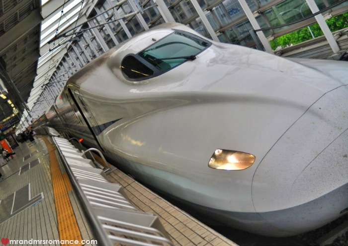 Mr & Mrs Romance - Kyoto temples - 50 bullet train
