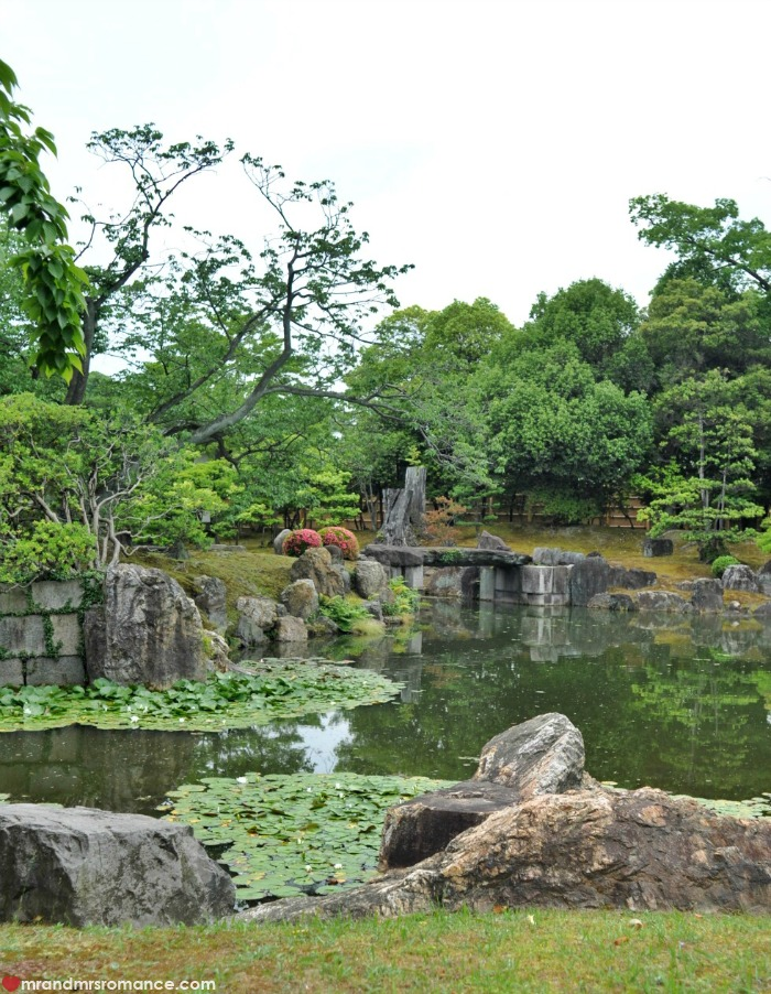 Mr & Mrs Romance - Kyoto temples - temple gardens