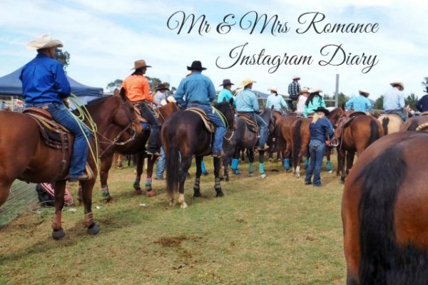 Mr & Mrs Romance - Instagram Diary - rodeo