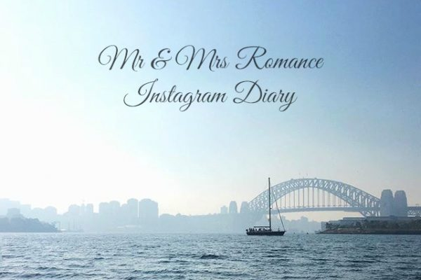 Mr & Mrs Romance - Insta Diary - 1 title