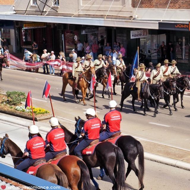 Mr & Mrs Romance - Instagram Diary - horse parade