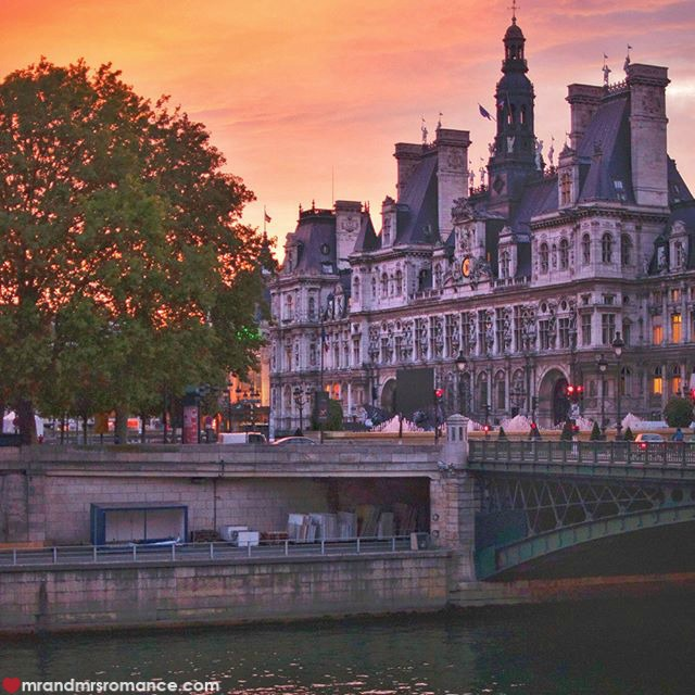 Mr & Mrs Romance - Insta Diary - 53 Paris sunset