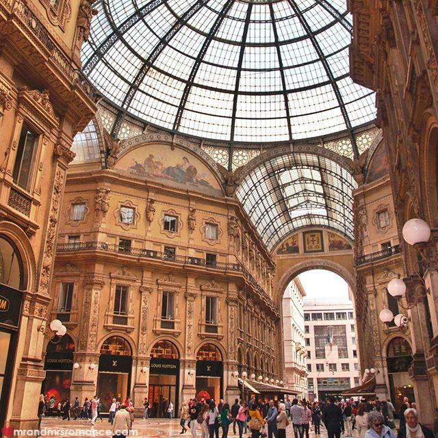 Mr & Mrs Romance - Insta Diary - 55 Galleria Vittorio Emanuele II Milan
