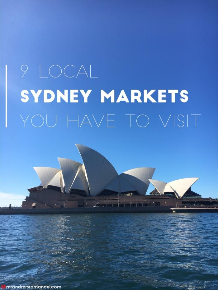 -Mr & Mrs Romance - Sydney Markets - title