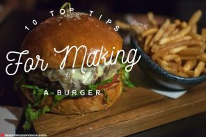 10 top tips for making a burger