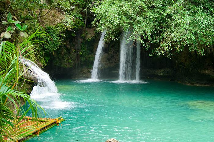 Philippines travel guide - Cebu waterfall