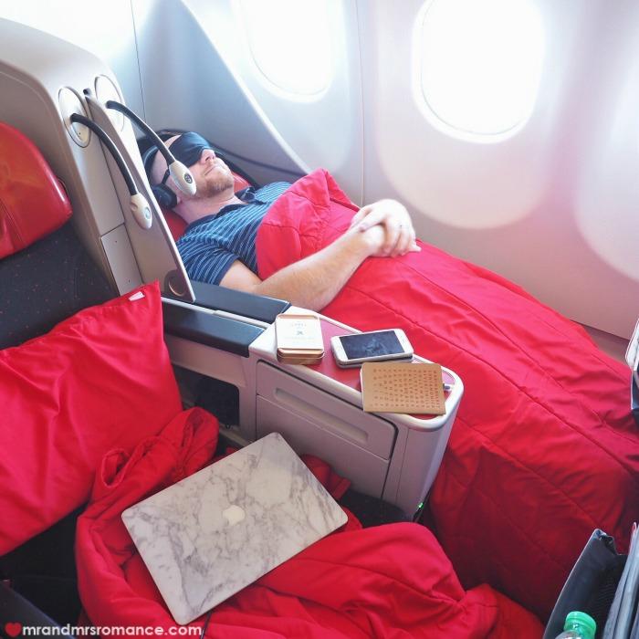 Mr & Mrs Romance - Insta Diary - Air Asia flight