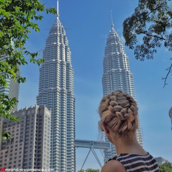 Mr & Mrs Romance - Insta Diary - Petronas Towers