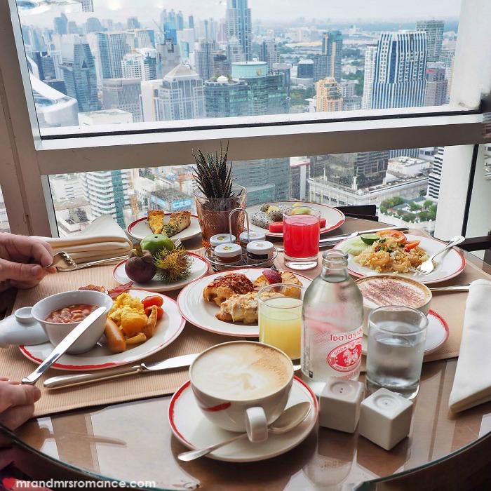 Mr & Mrs Romance - Insta Diary - Centara Grand breakfast