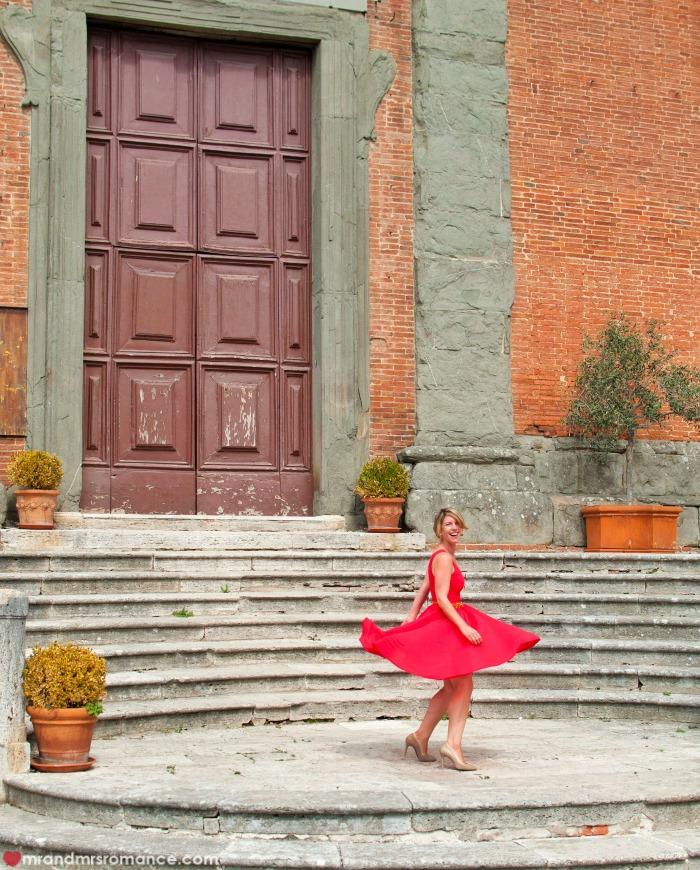 Mr & Mrs Romance - Insta Diary - 54 door of Lucingnano