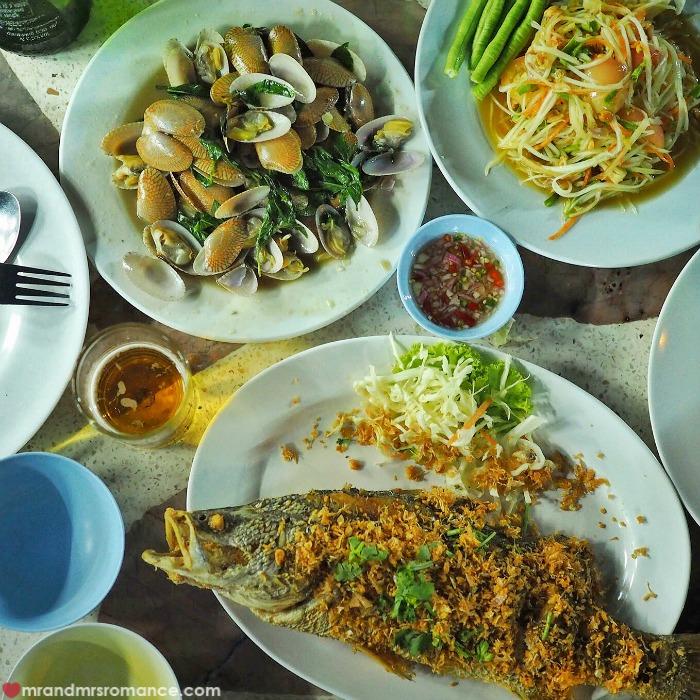 Mr & Mrs Romance - Insta Diary - Sopa Seafood Hua Hin