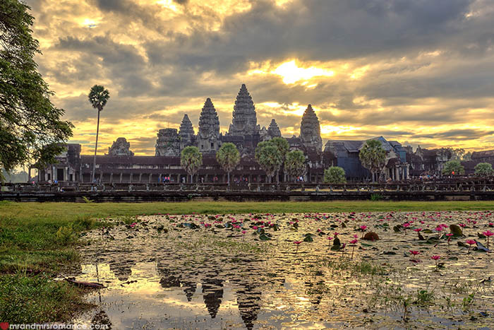Mr and Mrs Romance - 9 places to escape winter when you haven't saved for a holiday - like Cambodia