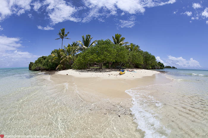 Mr and Mrs Romance - 9 places to escape winter when you haven't saved for a holiday - like Fiji