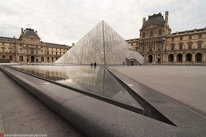 Mr and Mrs Romance - How to save money at the Louvre
