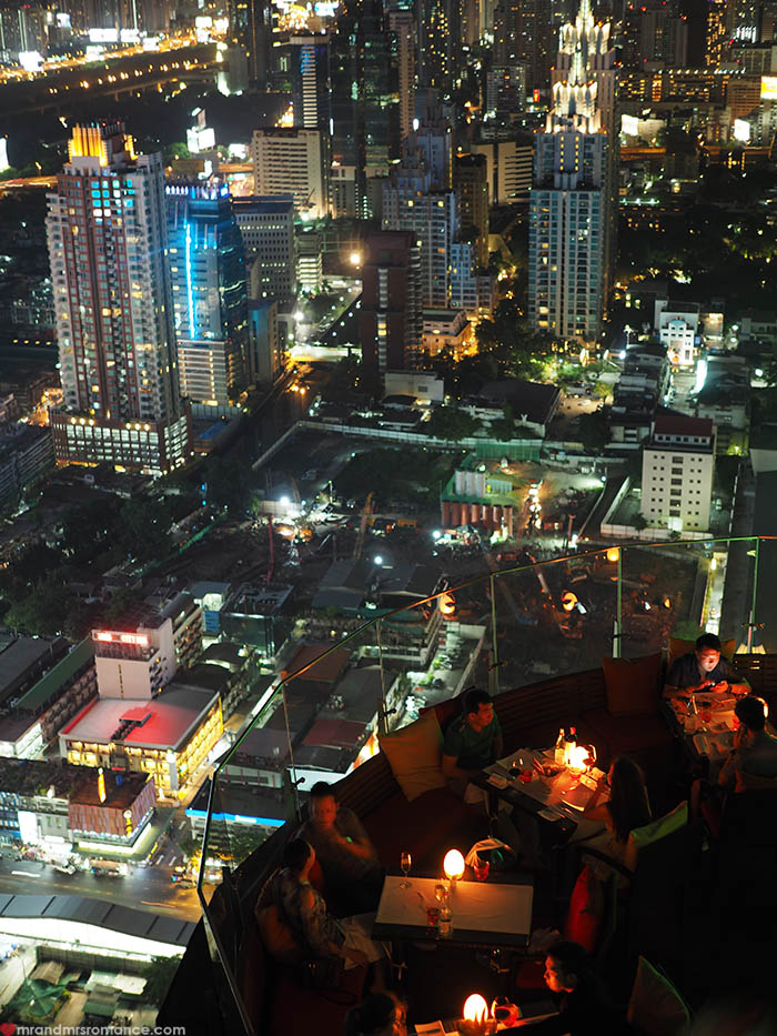 Mr and Mrs Romance - Where to stay in Bangkok - Centara Grand CentralWorld review