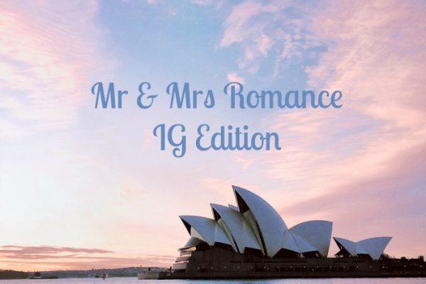 Mr & Mrs Romance - IG Edition - 1 title