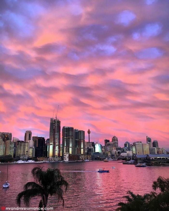 Mr & Mrs Romance - IG Edition - 2 Sydney sunset