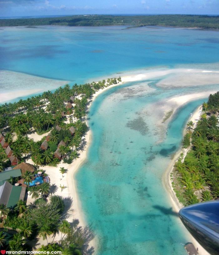 Mr & Mrs Romance - IG Edition - 53 Aitutaki from the air