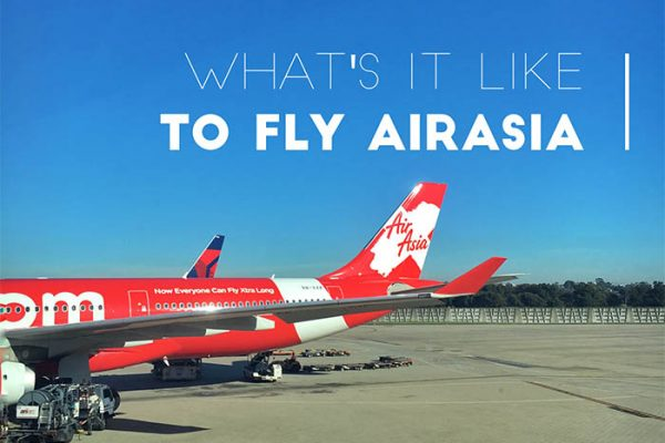 Mr and Mrs Romance - What is it really like to fly Air Asia - Airasia review