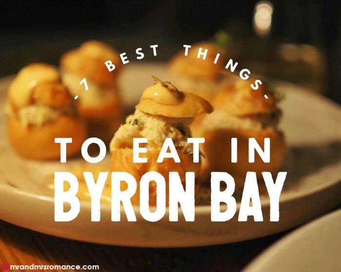 Mr & Mrs Romance - Byron Bay food - 1 title extra