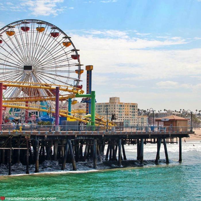 Mr & Mrs Romance - IG Edition - 55 Santa Monica pier
