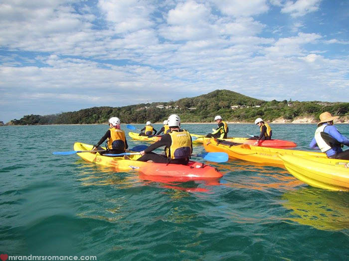 Mr & Mrs Romance - Things to do in Byron Bay - Go Sea Kayak