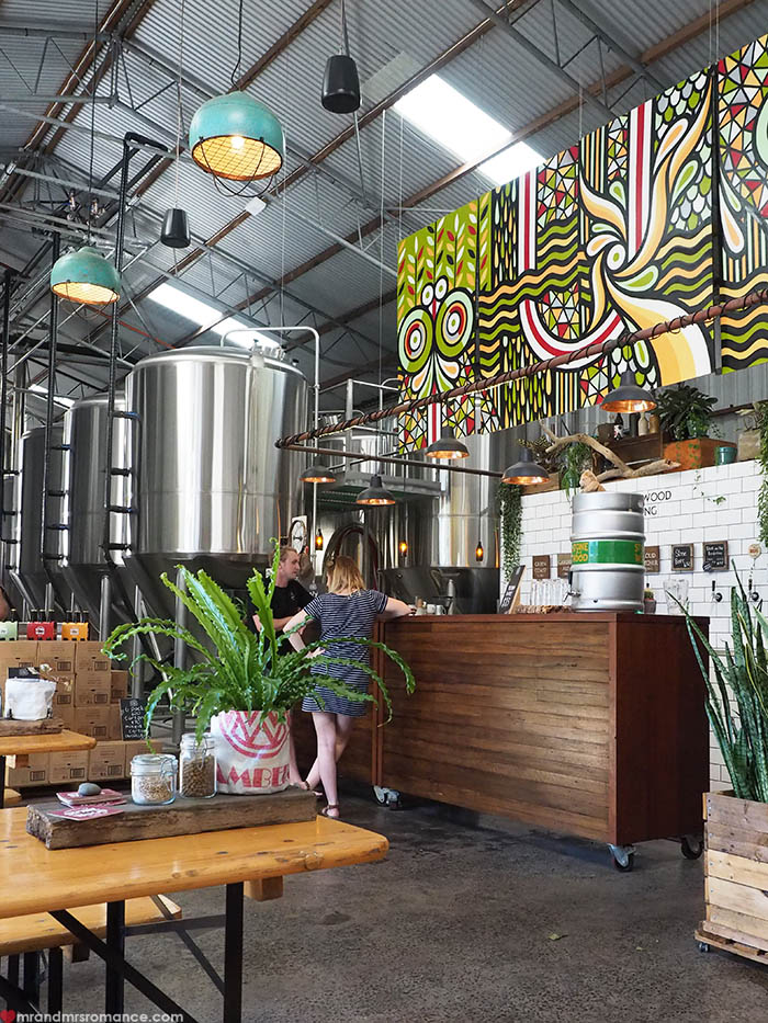 Mr & Mrs Romance - Things to do in Byron Bay - Stone and Wood Brewery