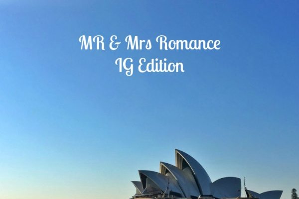 Mr & Mrs Romance - IG Edition Instagram Diary