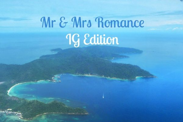 Mr & Mrs Romance - IG Edition Sabah - 1 title