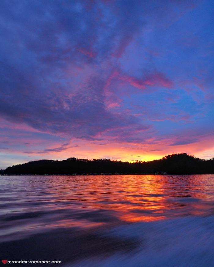 Mr & Mrs Romance - IG Edition Sabah - 11 sunset over Gaya Island