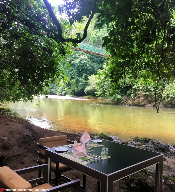 Mr & Mrs Romance - IG Edition Sabah - 21 lunch with a view Danum Valley
